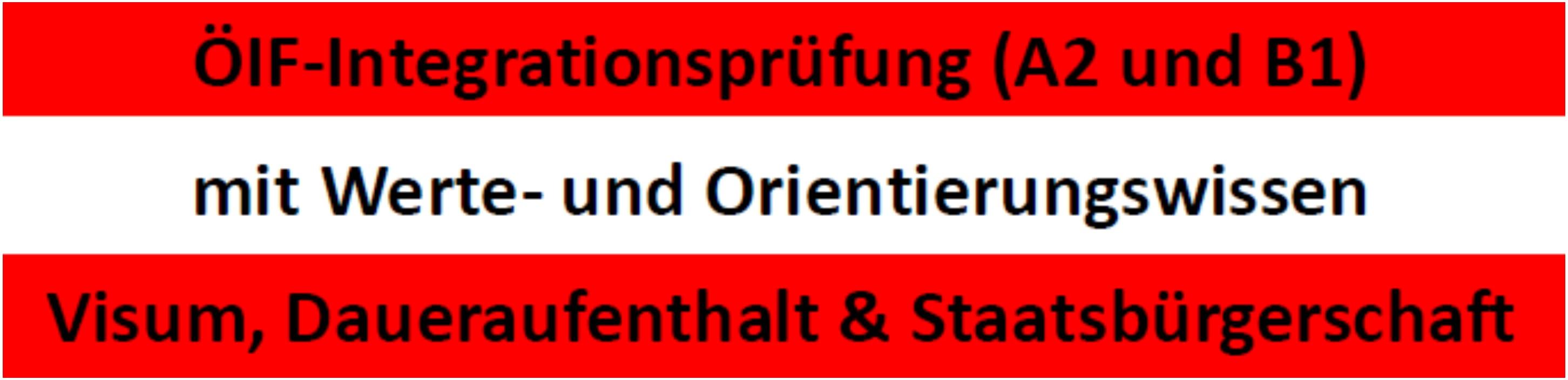Integrationsprüfungen in Graz A2 und B1