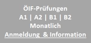 ÖIF Integrationsprüfungen bei Deutsch im Trend in Graz