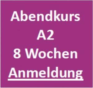 Abendkurs Deutsch A2 Graz