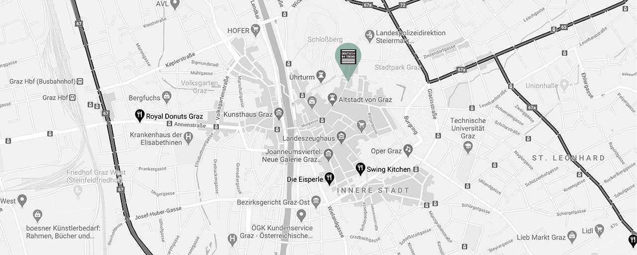 Deutschkurse Graz Karmeliterplatz 8 in Graz